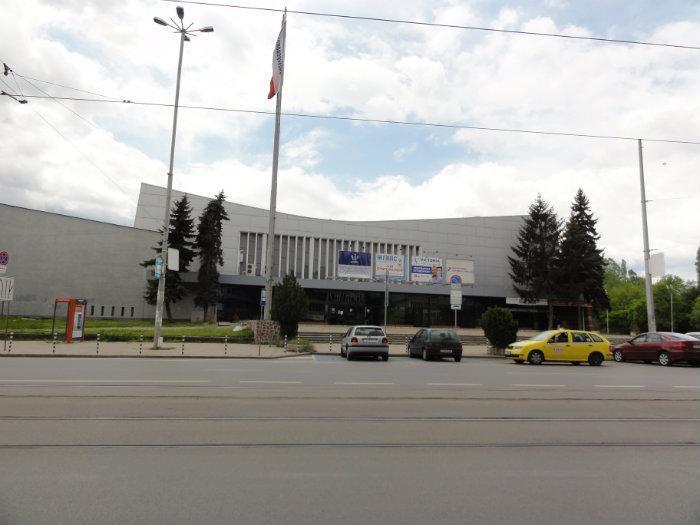 Сградата на Зала  Универсиада