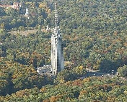 Сградата на Телевизионната кула