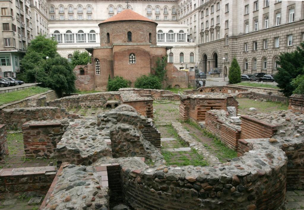 Църквата  Св. Георги  - Ротонда