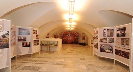 Крипта на храм-паметник  Св. Александър Невски