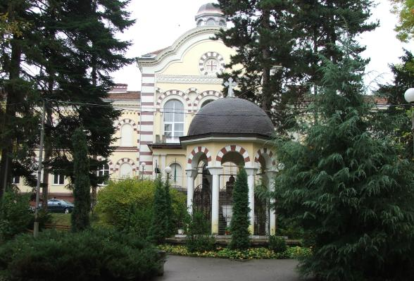 The Building of  Sofia Seminary