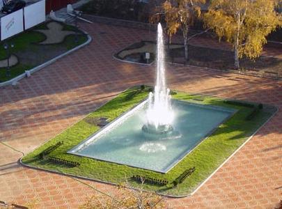 Fountain in Banski Square