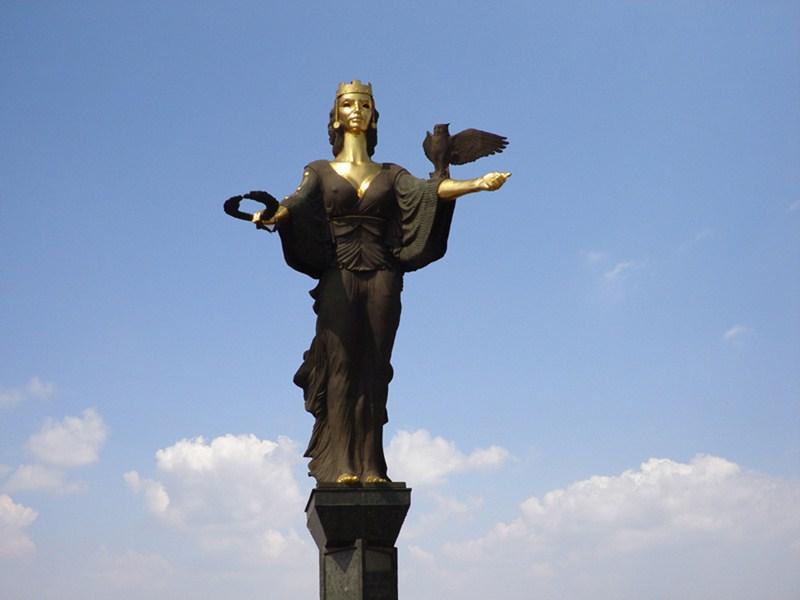 Sculpture of Saint Sophia