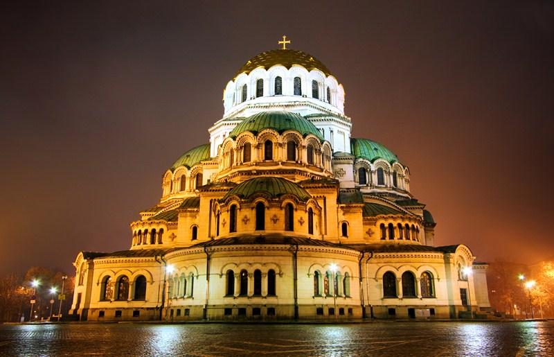 La catedral San Alejandro Nevski