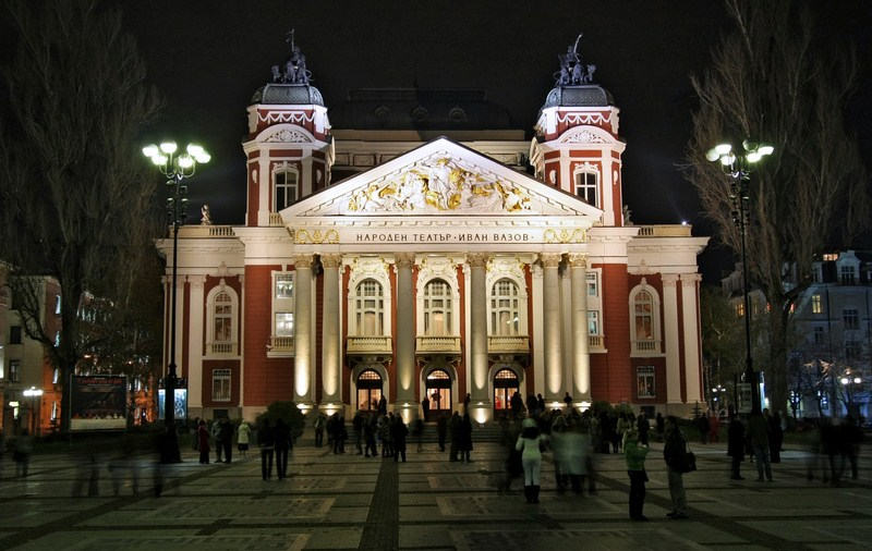 Gebäude des Volkstheaters Ivan Vazov