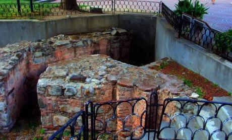 Ancient Serdica - Roman baths and a temple