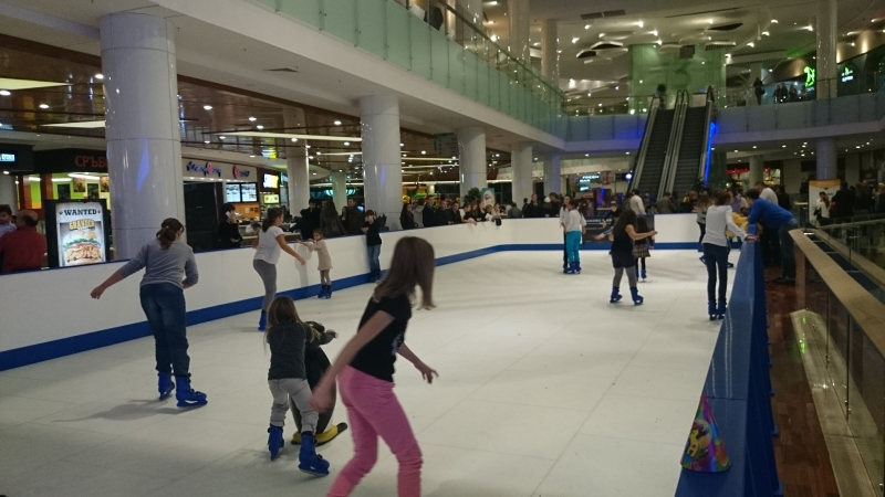 Ice Synthetic Rink