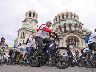 Sofia – European Capital of Sport gathered thousands of people at a Bike Carnival