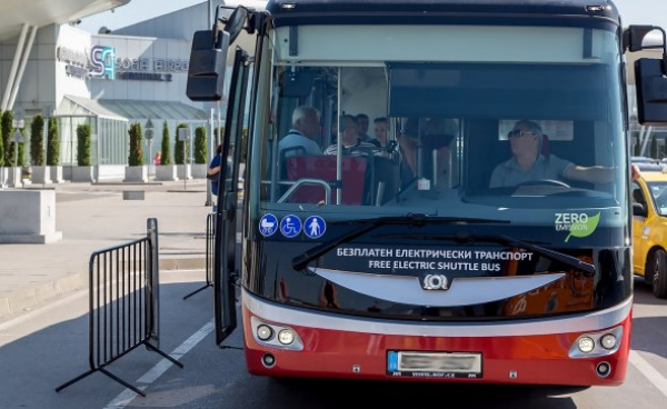 Stolichen Autotransport EAD with new electric buses