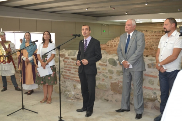 Sofia Presents a New Archaeological Exposition – Ancient Serdica, on its Festive Day