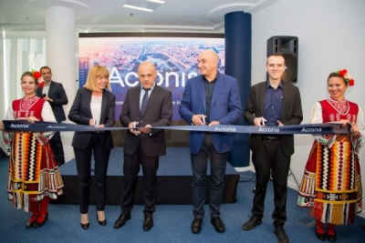 Acronis Opens New Office in Sofia, Establishing European R&D Center for Cyber  Protection, AI and Blockchain Projects